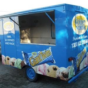Golden North Event Van