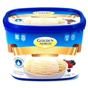 Golden North Take Home Tubs of Ice Cream