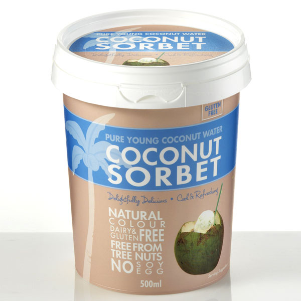 Sumptuous Coconut Sorbet
