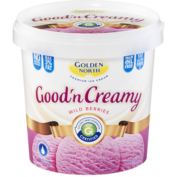 Good 'N Creamy Wild Berries