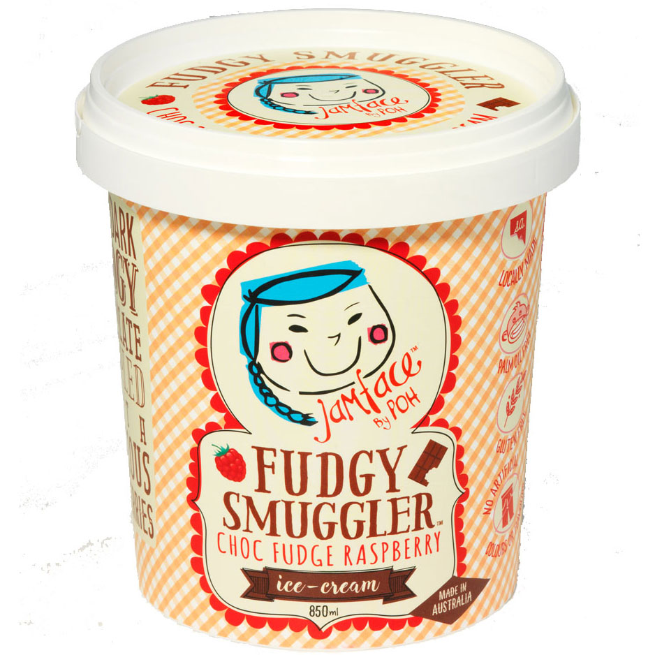 Fudgy Smuggler by Poh