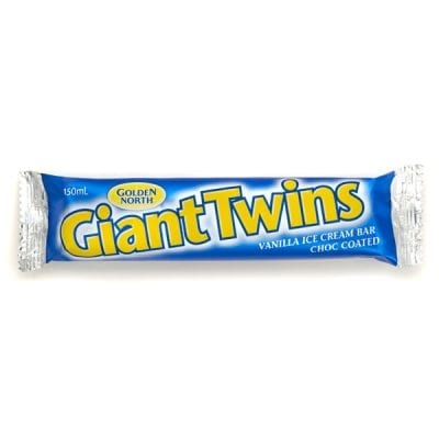Giant Twin Vanilla Ice Cream