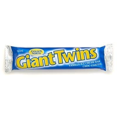 Giant Twin Vanilla Ice Cream
