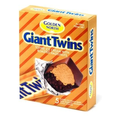 Giant Twin Toffee Roasted Hazelnut