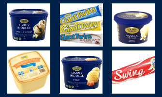 Golden North Ice Cream range