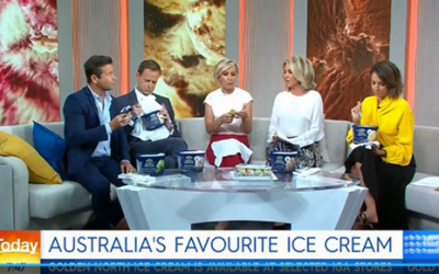 Today Show: Australia's Favourite Ice Cream Tub