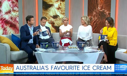 Today Show: Australia's Favourite Ice Cream Tub