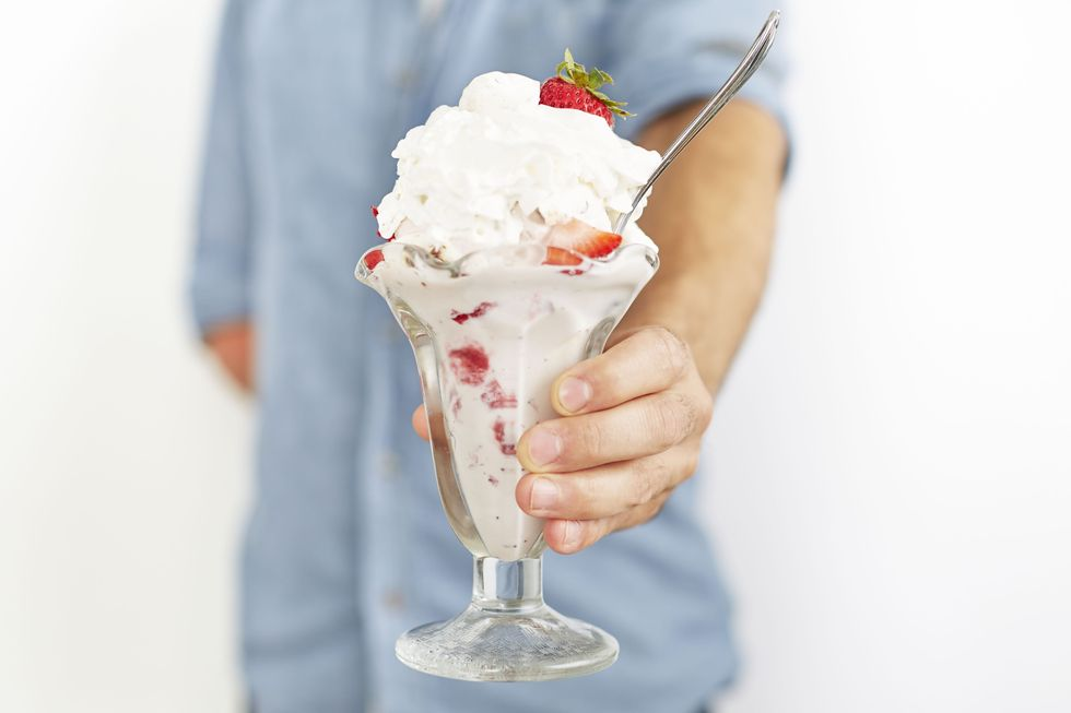 Eton Mess Ice Cream Sundae