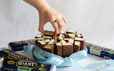 Giant Twins Ice Cream Cake