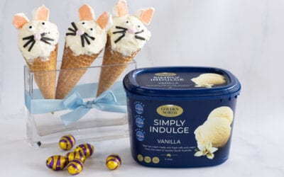 Easter Bunny Ice Cream Cones